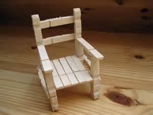 chaise en bois en 233 pingles a linge accessoires de