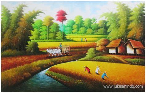 Lukisan Sawah 6 sawah padi lukisan related keywords sawah padi lukisan keywords keywordsking