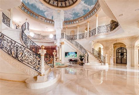 Entry Way Ideas by A Majestic Venetian Style Mansion In Texas Idesignarch
