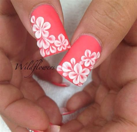 Nails Blumen by Tropical Flower Toe Nail Designs Www Imgkid The