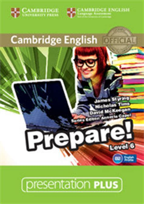 cambridge english prepare level 0521180368 cambridge english prepare level 6 presentation plus dvd rom englishbooks jp