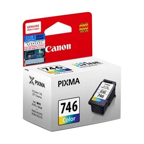 jual canon 746 color ink cartridge harga