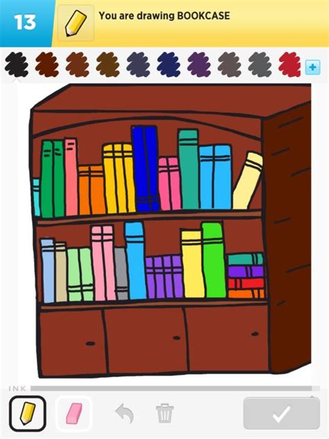 bookcase drawings how to draw bookcase in draw something