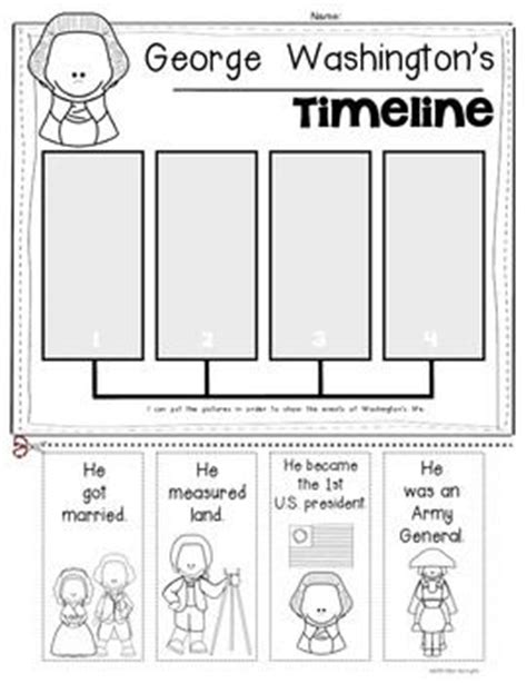 biography of george washington for first graders timeline lincoln and washington on pinterest