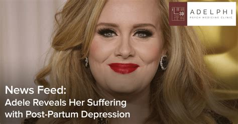 Likely Suffers From Post Partum Depression by Adele Reveals Suffering With Post Partum Depression