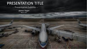 airplane powerpoint template airplane powerpoint 23619 free airplane powerpoint by