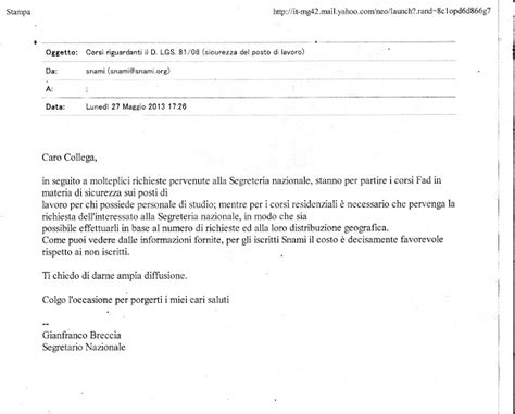lettera di trasferimento sede di lavoro medicina territorio sicurezza lavoro e documento