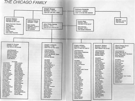 family secrets the that crippled the chicago mob books chicago chart