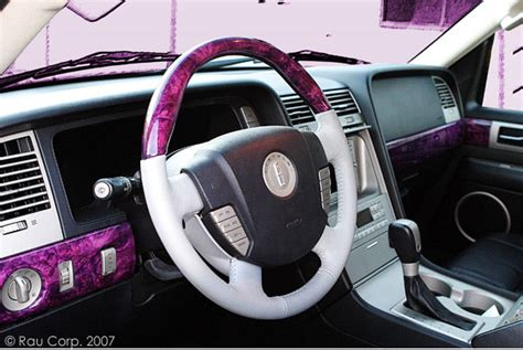 Real Wood Interiors Lincoln by Auto Refinishing Custom Car Interiors Lincoln Interior