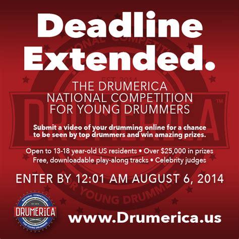 extended deadline for cukai taksiran 2014 drumerica entry deadline extended to wednesday august 6