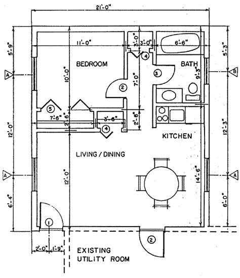 independent living home addition building plans plan 5
