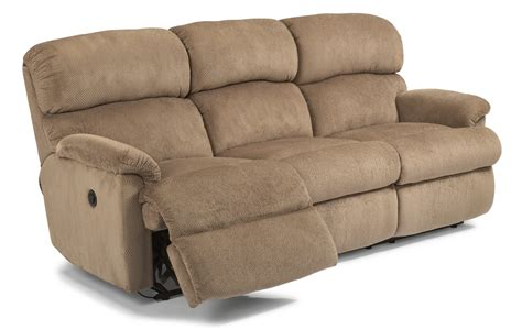 fabric power reclining flexsteel fabric power reclining sofa 7066 62m