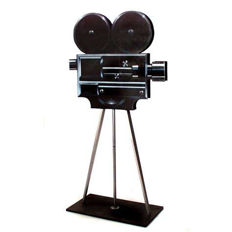 Broadway Home Decor by Movie Camera With Tripod The Prop Shop