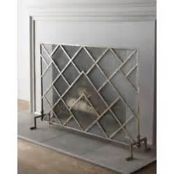 modern fireplace screens den update help home interior design and decorating