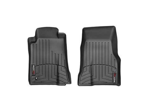 2013 2014 mustang weathertech digitalfit 174 front floor mats black 444681