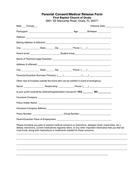 best photos of blank medical consent forms blank medical