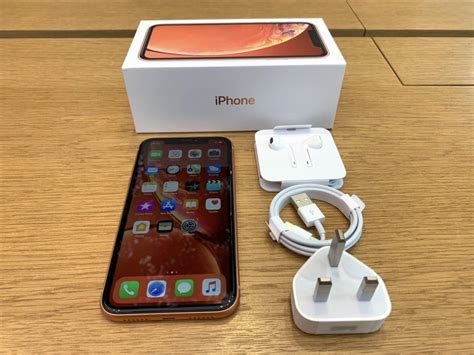 coral iphone xr unboxing photos
