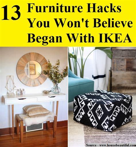 furniture hacks 13 furniture hacks you won t believe began with ikea