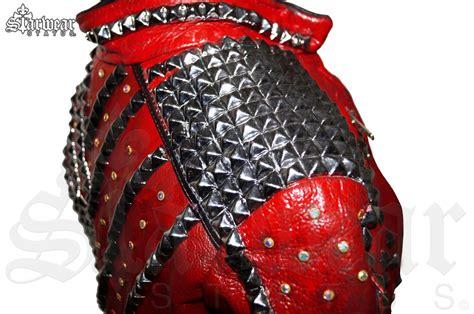 Stelan Mj Vest Belt Murah michael jackson swarovski crystal beat it leather biker zipper jacket women s small medium