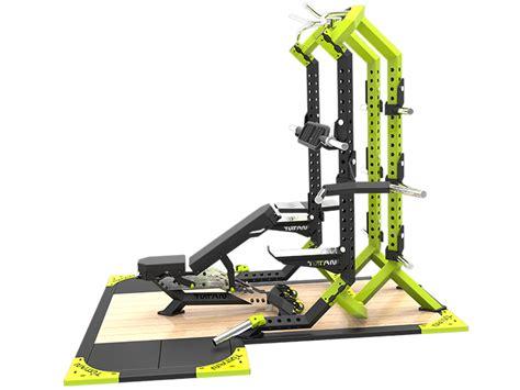 titan fitness thd line half rack