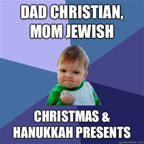 dad christian mom jewish christmas hanukkah presents