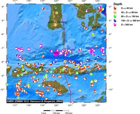 earthquake flores strong earthquake flores sea indonesia 21 sep 13