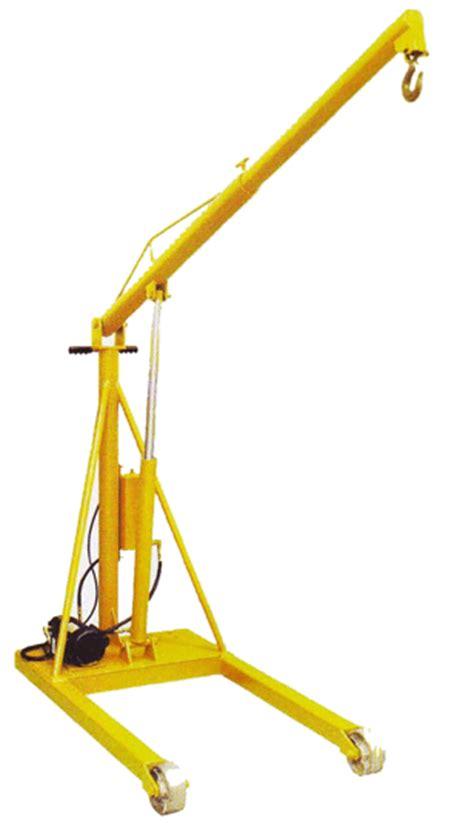 floor ls with extended arm econo master mobile hydraulic floor cranes