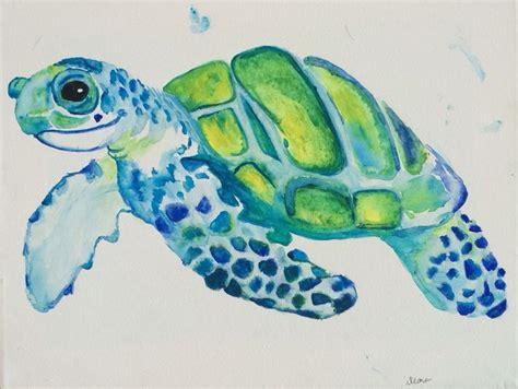 watercolor tattoo turtle gerelateerde afbeelding watercolor painting