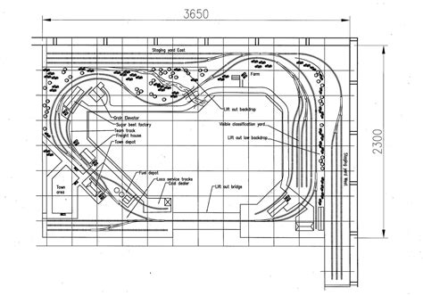 garage layout plans new garage ho layout design model railroad hobbyist magazine