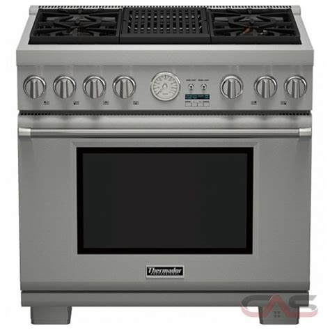 thermador cooktop prices thermador professional series prg364nlg range canada