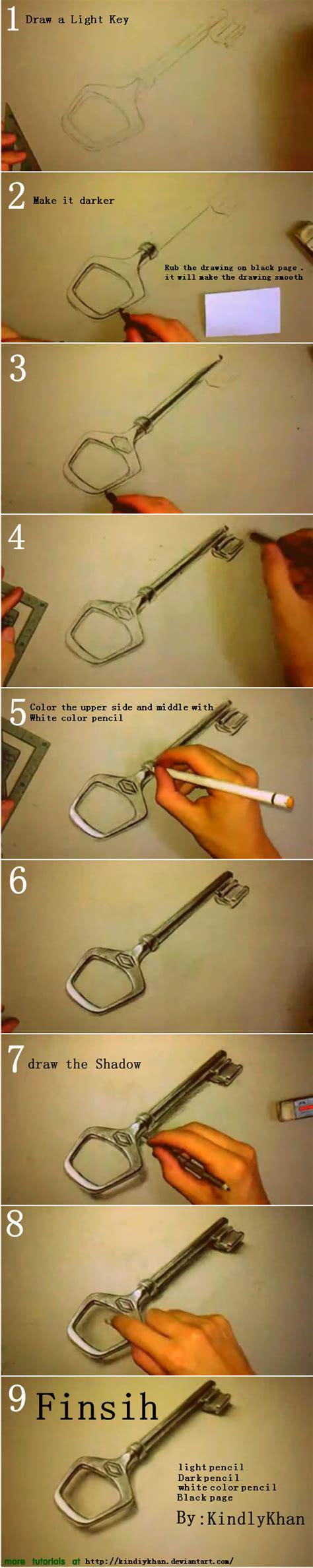 tutorial gambar 3d pencil 3d key pencil drawing tutorial by kindiykhan on deviantart
