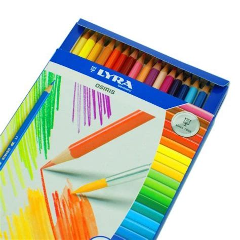 Lyra Osiris 36 Ref2521364 lyra osiris water soluble colored pencils 3mm cores set of 36 assorted colors 2531360