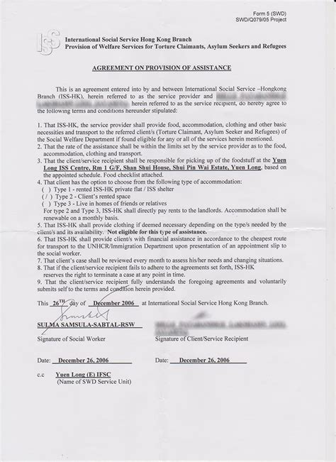 Termination Of Tenancy Agreement Letter Hong Kong Vision