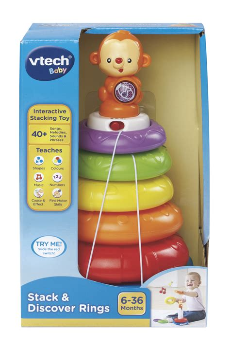 Vtech Stack N Discover Rings buy vtech stack and sing rings at mighty ape nz