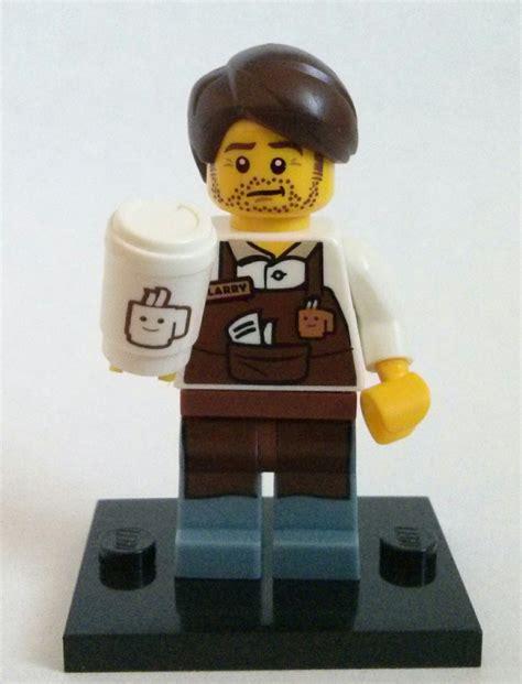Lego Minifigures The Lego Larry The Barista larry the barista lego collectible minifigure series the lego