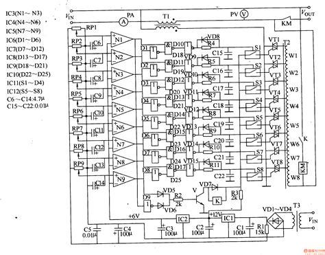 ac voltage regulator circuit diagram readingrat net