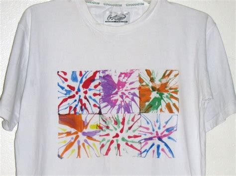how to design a shirt using paint spin art t shirt red ted art s blog
