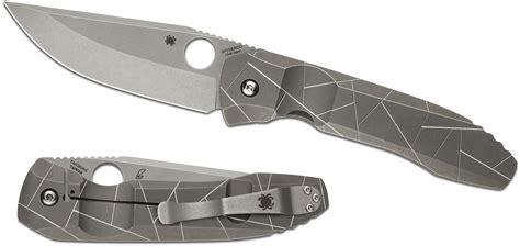 spyderco clearance spyderco c199tip rassenti nirvana folding knife 3 74