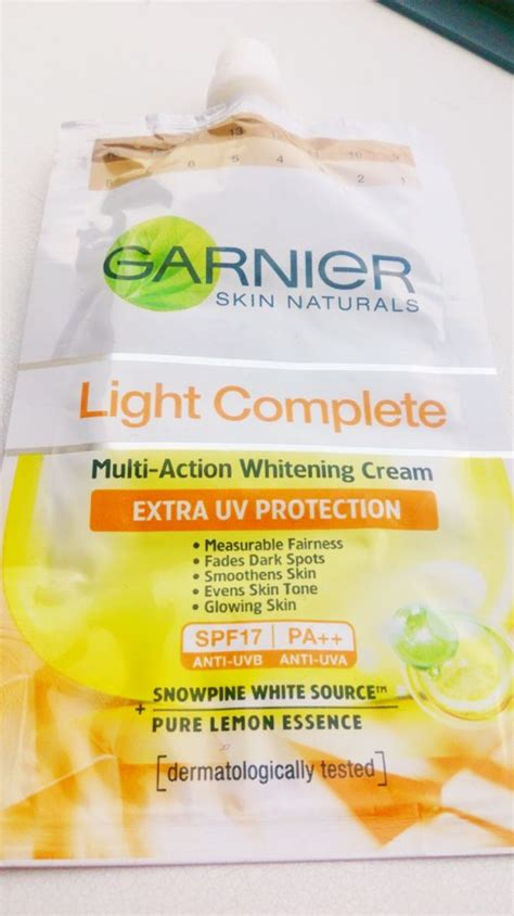 skincare garnier light complete multi whitening