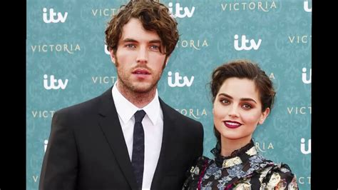 tom hughes victoria youtube victoria tv series jenna coleman and tom hughes behind the