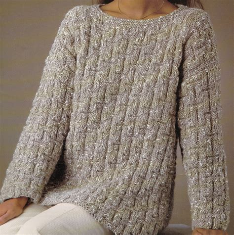 pattern for jumper vintage knitting pattern instructions to make ladies