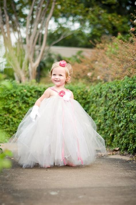 Wedding Dress Anak Tutu Blossom Merah toddler flower tutu dress silver gray pink for weddings pageants portraits 105