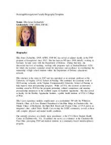 Bio Mba Student by Nursing Student Resume Profile Mahara A Versatile Open