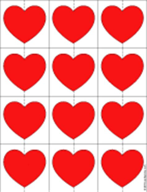 printable red heart shapes valentine s day printables valentine s day crafts aunt