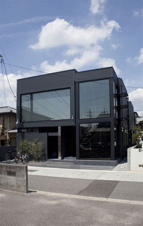 modern japanese houses modern japanese architecture at its best black slit house freshome