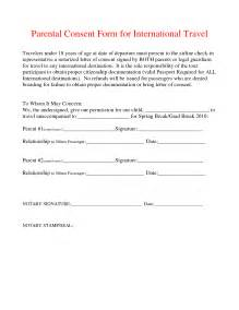 parental consent form template travel best photos of parental consent form template parental