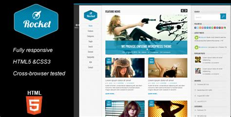 layout template html5 rocket magazine html5 template site templates themeforest