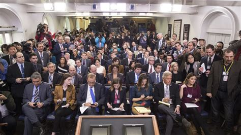 Wh Press Corps Sees Conservative Reporters In The Briefing Room As Existential Threat