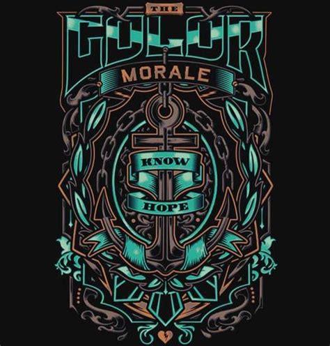 the color morale merch the color morale band merch metal