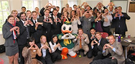 Oregon Sports Mba by The Oregon Mba Lundquist College Of Business